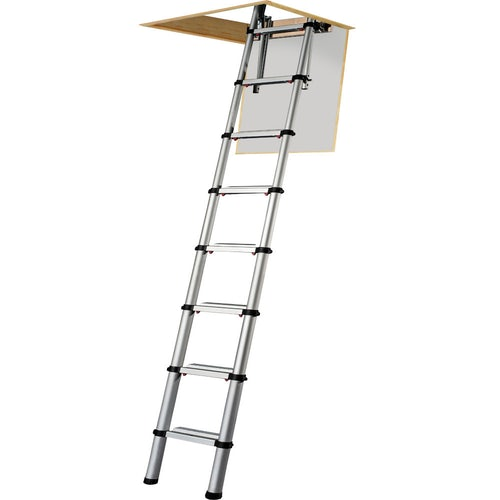 Video of Youngman Telescopic Loft Ladder with Automatic Locking System - 2.6m