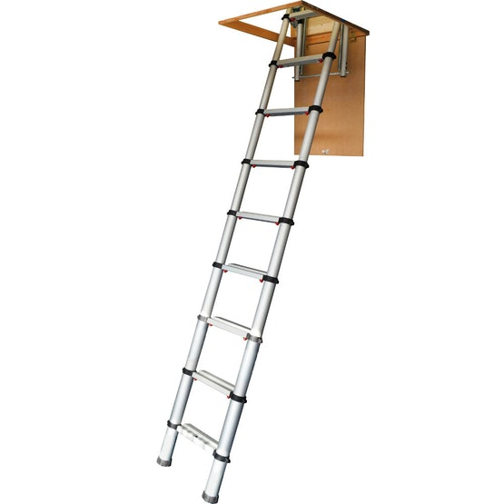 Video of Youngman Telescopic Loft Ladder with Automatic Locking System - 2.9m