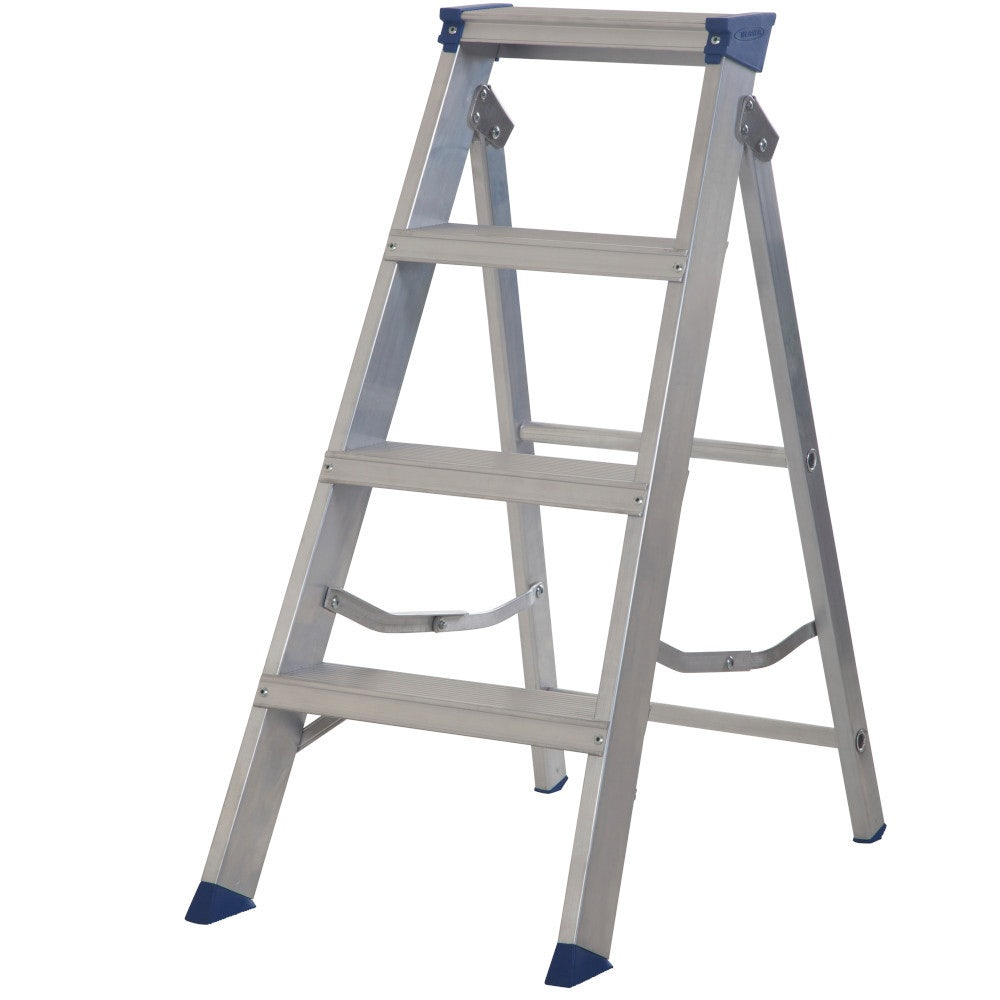 Video of Werner 4 Tread Master Trade Stepladder - BS 2037 EN131 Professional