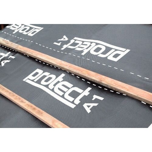 a1 impermeable felt hr roofing underlay by protect   45m x 1m roll 48085