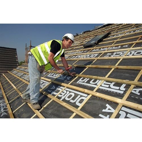 a1 impermeable felt hr roofing underlay by protect   45m x 1m roll 48086