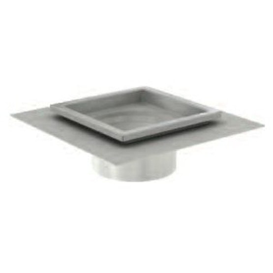 aco gully 157 316 stainless steel square top drainage