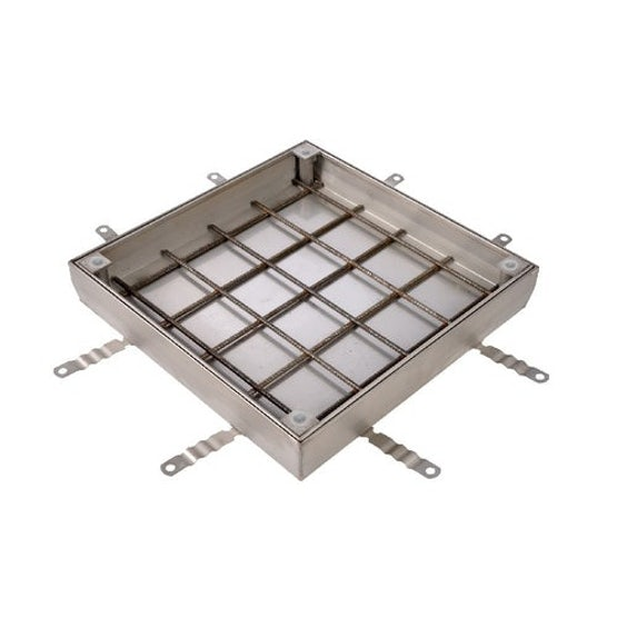 aco uniface ss single recessed access cover