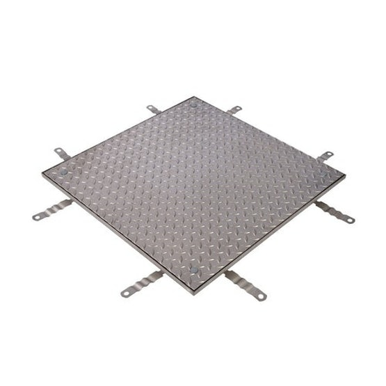 aco unitop ss solid single recessed access cover