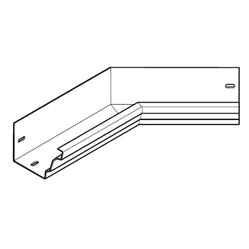 aluminium gx pressed moulded gutter 135dg int angle