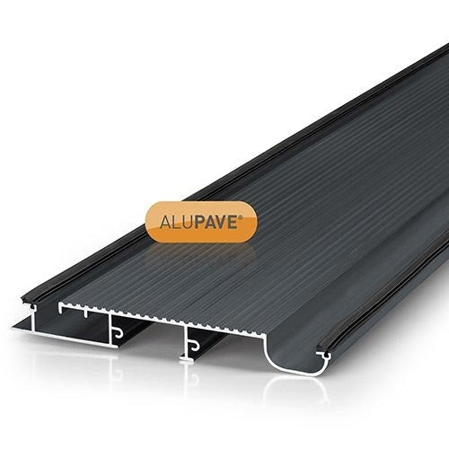 alupave apv220g fireproof flat roof and decking board 6m grey