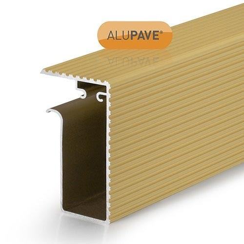 alupave apv314s fireproof flat roof and decking side gutter 3m sand