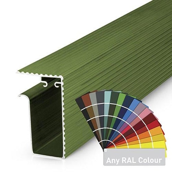 Video of Alupave Fireproof Full-Seal Flat Roof & Decking Side Gutter Powder Coated