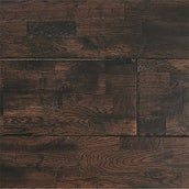 Atkinson & Kirby Solid Oak Flooring Dark Finger Jointed Lacquer