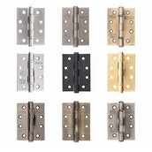 Atlantic Ball Bearing Hinges Grade 13 Fire Rated 4 Inches x 3 Inches x 3mm
