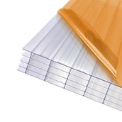 AXIOME 25mm Clear Polycarbonate Roof Sheet