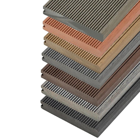 Video of Cladco Solid Bullnose Composite Decking Board - 4m
