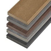 Cladco Solid Bullnose Composite Decking Board - 4m