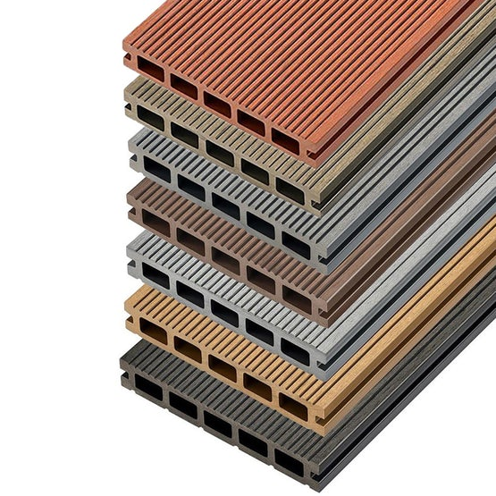 Video of Cladco Hollow Composite Decking Board - 4m