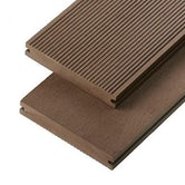 cladco wpc solid decking board coffee
