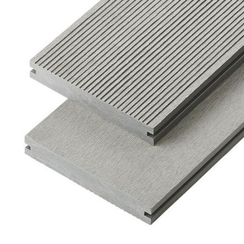 cladco wpc solid decking board light grey