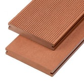 cladco wpc solid decking board redwood