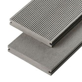 cladco wpc solid decking board stone grey