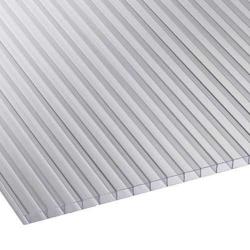 corotherm twinwall 10mm clear polycarbonate roof sheet