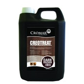 Cromar Creotreat Timber Treatment - Dark Brown (20 Litres)