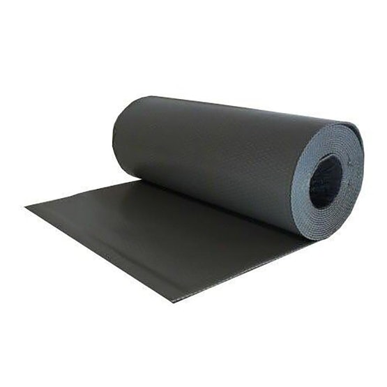 deks perform flexible lead alternative 300mm x 4m roll grey