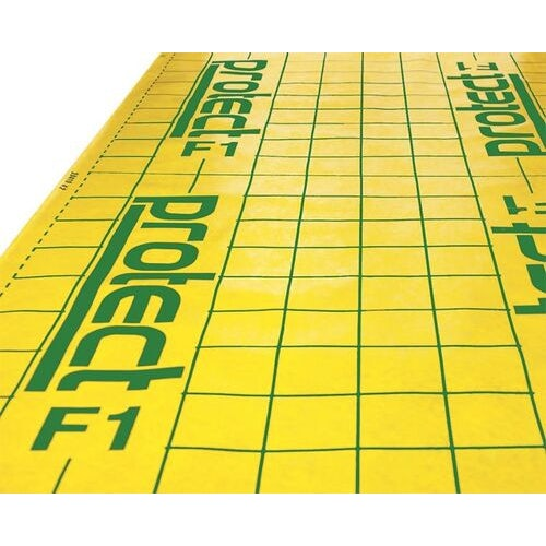 f1 floor protection membrane  integral tape by protect   1.5m x 50m 48089