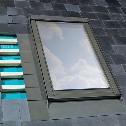 FAKRO ELV/01 Standard Window Flashing For Up To 10mm Slate Tiles - 55cm x 78cm