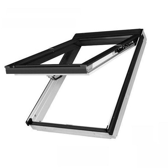 fakro fp white top hung roof window