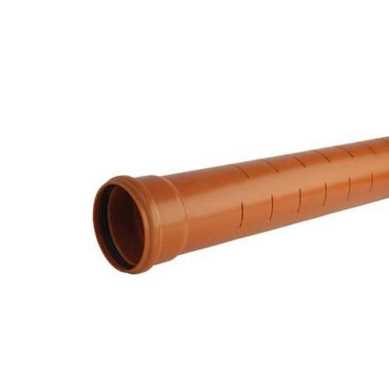 hunter slotted land drainage pipe ss terracotta