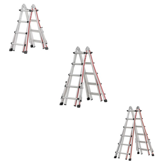 Video of Hymer Red Line Telescopic 4 Section Combination Ladder