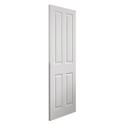 jb kind canterbury grained white primed panelled door angled