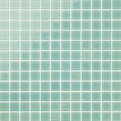 Johnson Tiles Teres Mosaics Spearmint Gloss Glass Wall Tile