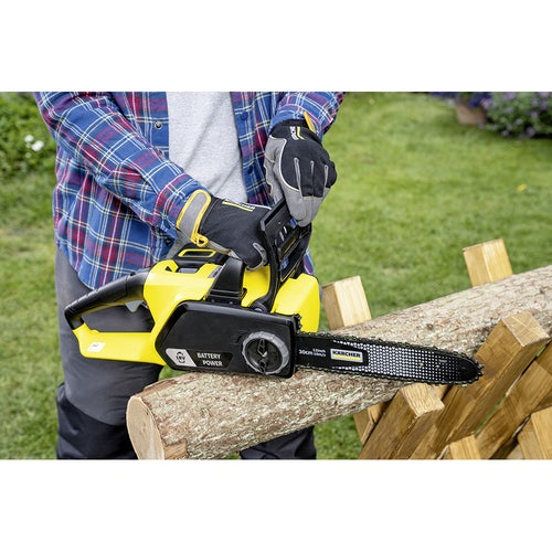 Karcher Battery Powered Chain Saw 18 30 Machine Only Detailed Image 1