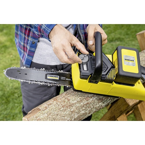Karcher Battery Powered Chain Saw 18 30 Machine Only Detailed Image 2