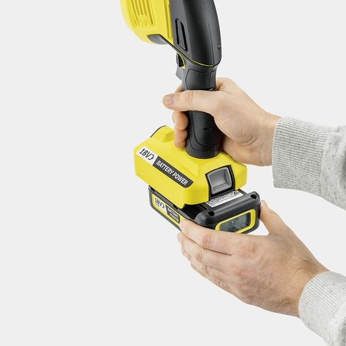 Karcher Battery Powered Grass and Shrub Shear 18 20 Machine Only Detailed image 1