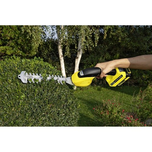 Karcher Battery Powered Grass and Shrub Shear 18 20 Machine Only Lifestyle 1