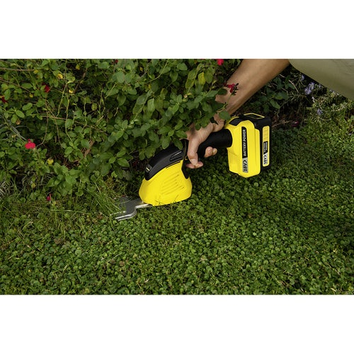 Karcher Battery Powered Grass and Shrub Shear 18 20 Machine Only Lifestyle 5