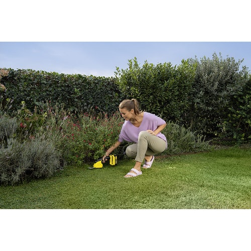 Karcher Battery Powered Grass and Shrub Shear 18 20 Machine Only Lifestyle 6