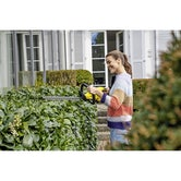 Karcher Battery Powered Hedge Trimmer 18 45 Machine Only Lifestyle Image 4