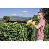 Karcher Battery Powered Hedge Trimmer 18 50 Machine Only Lifestyle Image 1