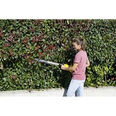 Karcher Battery Powered Hedge Trimmer 18 50 Machine Only Lifestyle Image 2