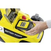 Karcher Battery Powered Lawn Mower 18 33 Machine Only Detail Image 1