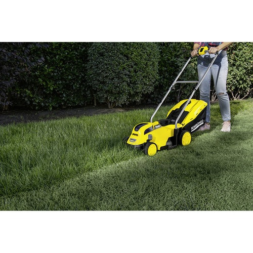 Karcher Battery Powered Lawn Mower 18 33 Machine Only Lifestyle Image 2