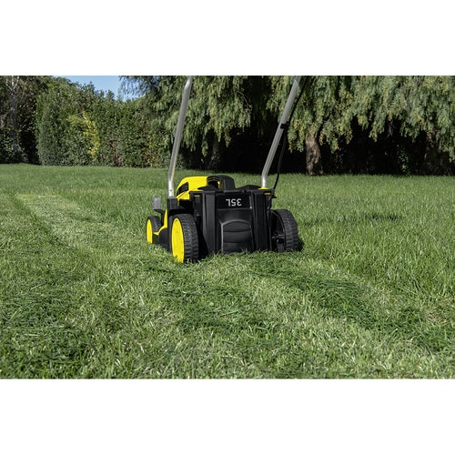 Karcher Battery Powered Lawn Mower 18 33 Machine Only Lifestyle Image 4