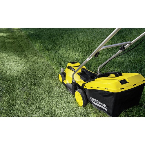 Karcher Battery Powered Lawn Mower 18 33 Set with Battery Lifestyle 3