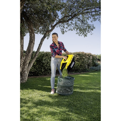 Karcher Battery Powered Lawn Mower 18 33 Set with Battery Lifestyle 6
