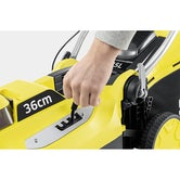 Karcher Battery Powered Lawn Mower 18 36 Machine Only Detailed Image 2