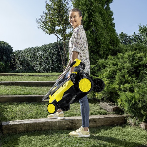 Karcher Battery Powered Lawn Mower 18 36 Machine Only Lifestyle 7