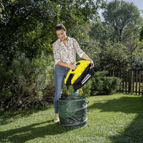 Karcher Battery Powered Lawn Mower 18 36 Set with Battery Lifestyle 6