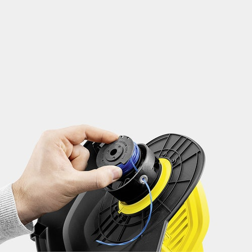 Karcher Battery Powered Lawn Trimmer 18 25 Set with Battery Detailed Image 4
